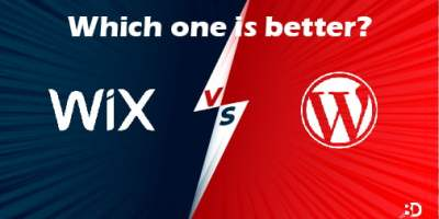 Wix VS WordPress : Which one We recommend? 3