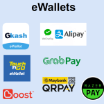 Free ewallet merchant account for SME / retail / food delivery