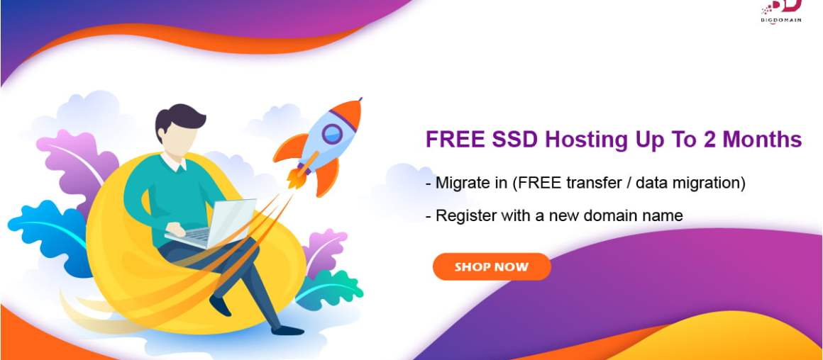 FREE SSD Hosting up to 2 months