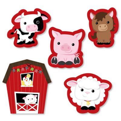 farm animals diy shaped