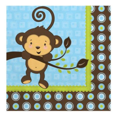 Monkey Baby Shower Theme