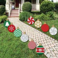 Christmas Card Yard Decorations
