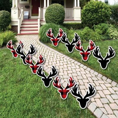 Christmas Reindeer Lawn Decorations