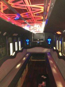 22 passenger gmc trolley interior 3 - 22-passenger-gmc-trolley-interior-3
