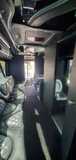 9 60 - 53 Passenger<br>VIP Tour Party Bus</br>Limo #60