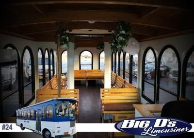 24 PassengerClassic TrolleyLimo #24