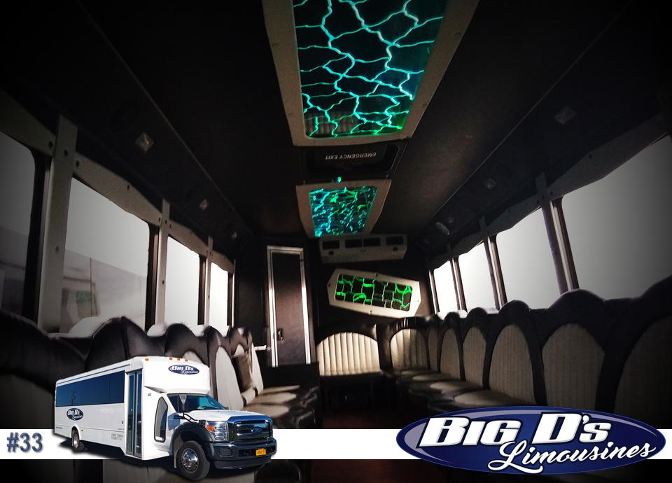 fleet bus 33 - 25 Passenger<br>550 Party Bus</br>Limo #33