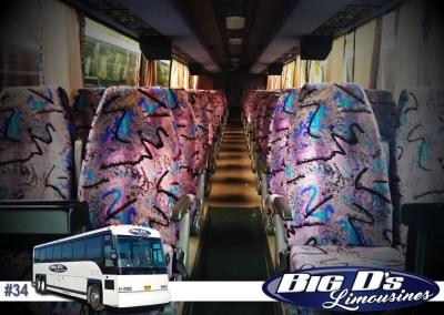 47 PassengerCoach Tour BusLimo #34