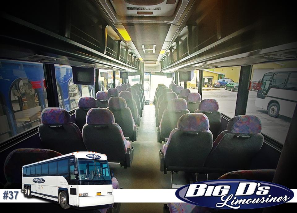 fleet bus 37 - 57 Passenger<br>Coach Tour Bus</br>Limo #37