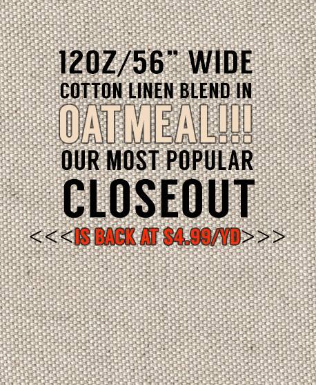 OATMEAL 12oz Closeout News
