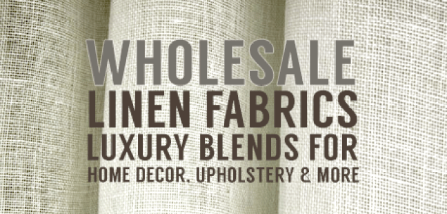 New Linen Fabrics Buy Wholesale Big Duck Canvas Blog