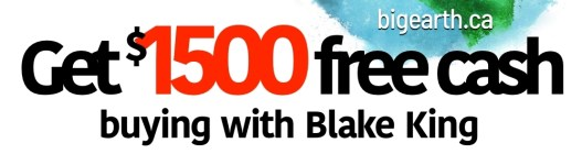 Buy a home and get free cash back in Central Alberta
