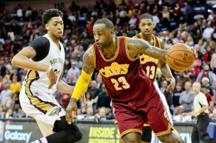 Image result for Lebron vs the pelicans