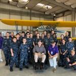 Higgins Squadron visits