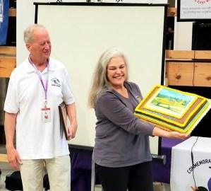 Presentation of Cake