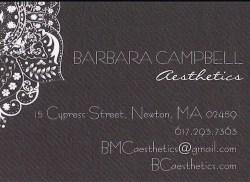 Barbara Campbell Aesthetics Gift Certificate