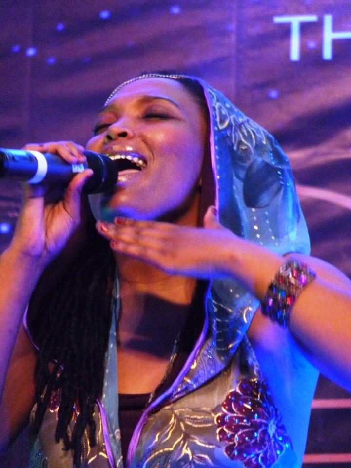 Nkulee Dube, daughter to the late Lucky Dube