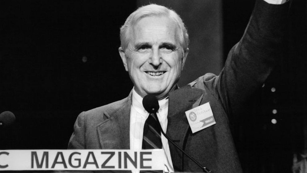 Doug Engelbart, inventor of the computer mouse,