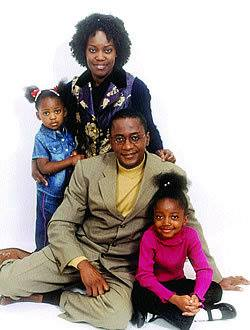 Peter Sematimba and his family.