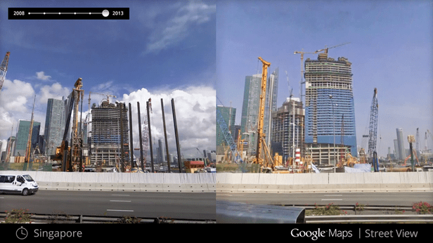 Google Maps Street View now lets you go back in time on google time clock, google time diagram, world time map, google maps street view 2012, google time logo, zong time map, tv time map, nist time map,