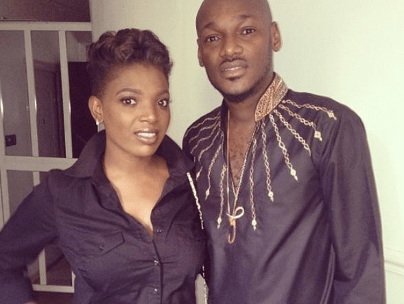 2Face Idibia and his wife Annie