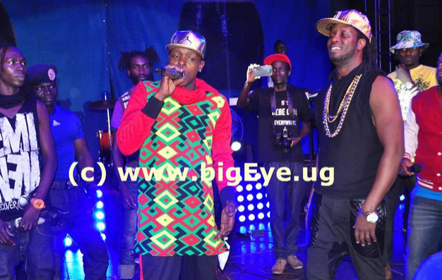 Chameleone and Bebe Cool