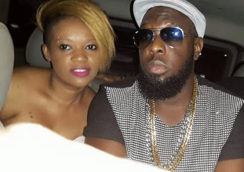 Timaya and Professor Big Eye's wife, Sheila Patience.