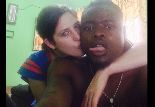 Pallaso and his wife Nichole pose for a photo