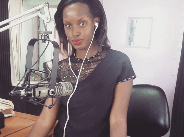 Flavia Tumusiime on air at Capital FM