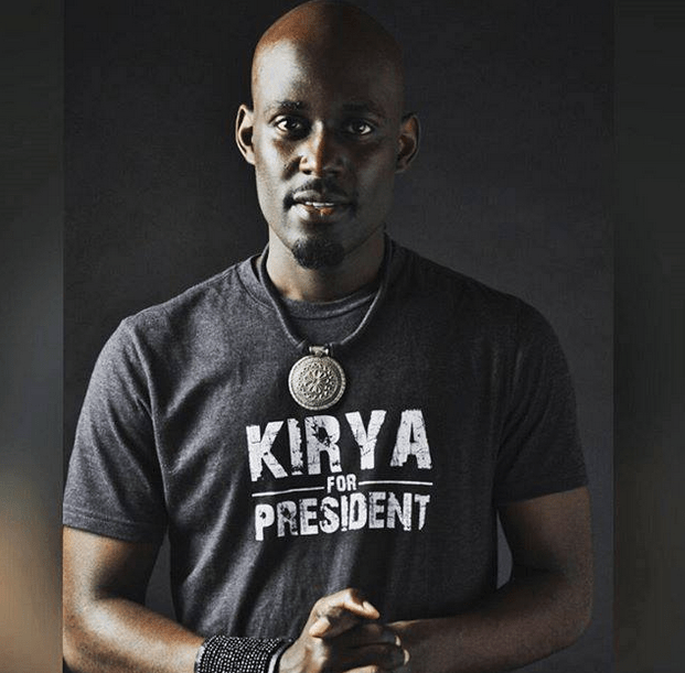 Maurice Kirya to run for presidency