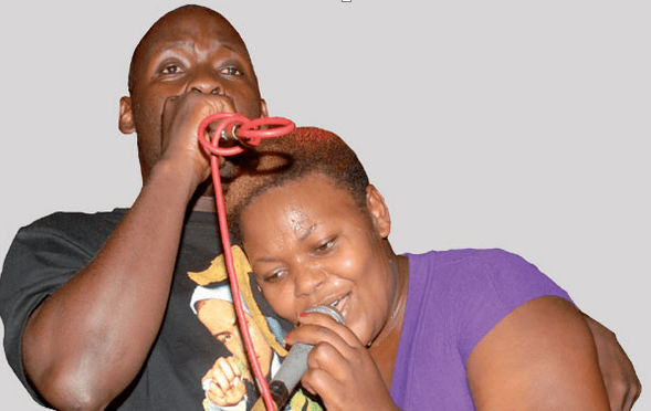 Catherine Kusasira and Fred Serugga