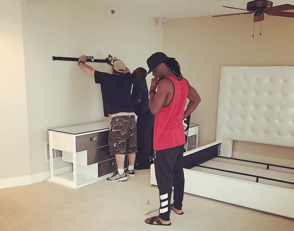 P-Square buys new house in USA