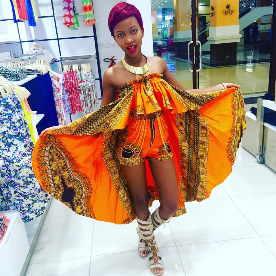 Sheilah Gashumba shows off her honey pot to fans
