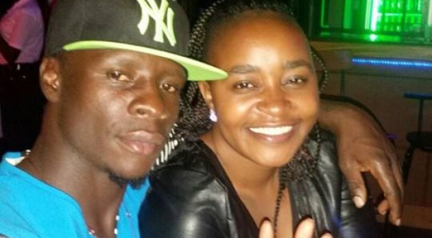 Uganda Revenue Authority Football Club (URA FC) striker Robert Ssentongo when he was still in love with Ugandan artiste, Lady Mariam ak.a Tindatiine.
