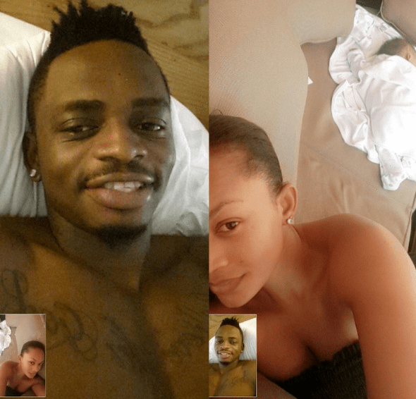 Photo: Zari goes back to video calling after dry sex tape