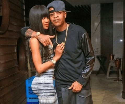 Prezzo and girlfriend