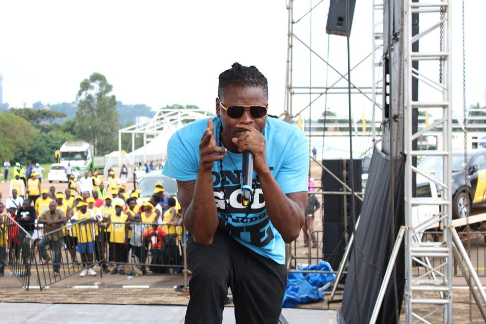 Pallaso at the MTN marathon