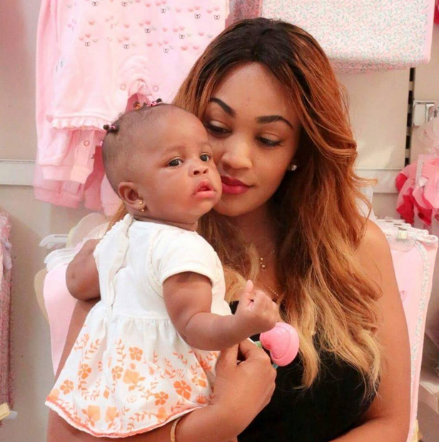 Zari Hassan and her daughter