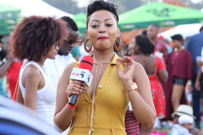 Anita Fabiola at Blankets and Wine event