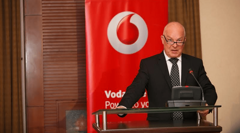 Allan Richardson, the chief executive officer Vodafone Uganda