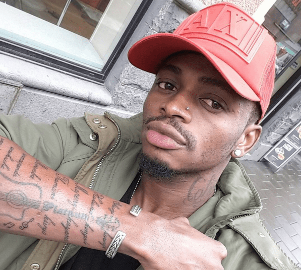 Diamond Platnumz tattoo