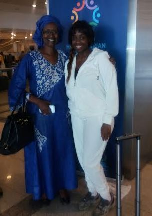 Angella Katatumba arrives in Turkey for the United Nations Humanitarian summit