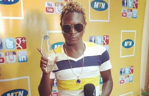 Gravity Omutujju received an award for most downloaded hip-hop song in the MTN Callertunez Online Awards