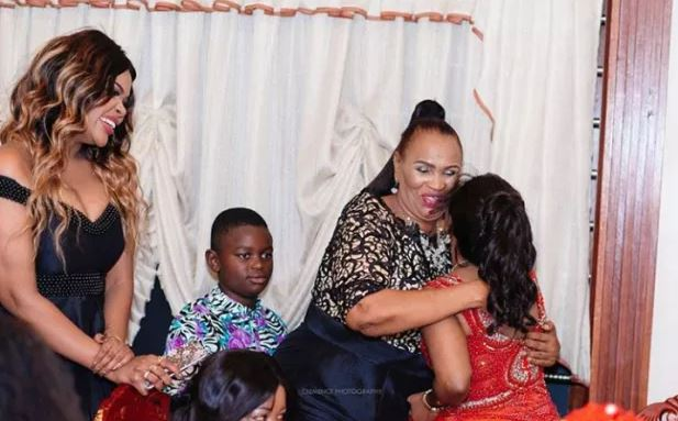Wema Sepetu mum celebrates 60th birthday