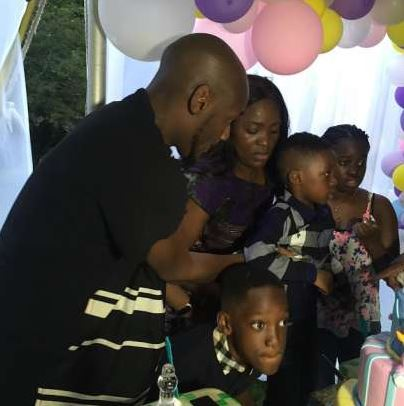 2Face Idibia celebrates daughter's 10th birthday