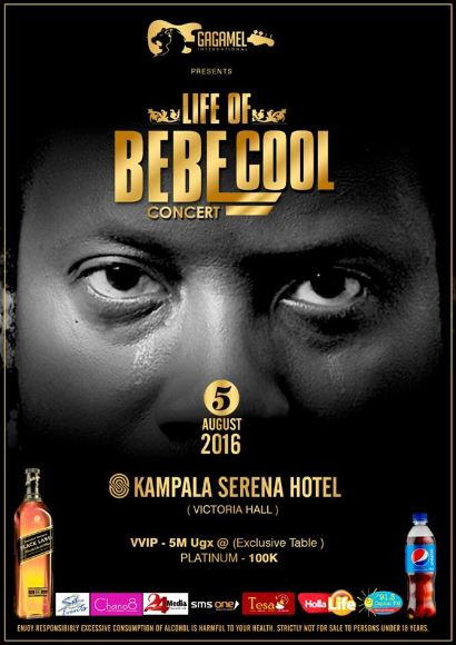 Life of Bebe Cool concert artwork