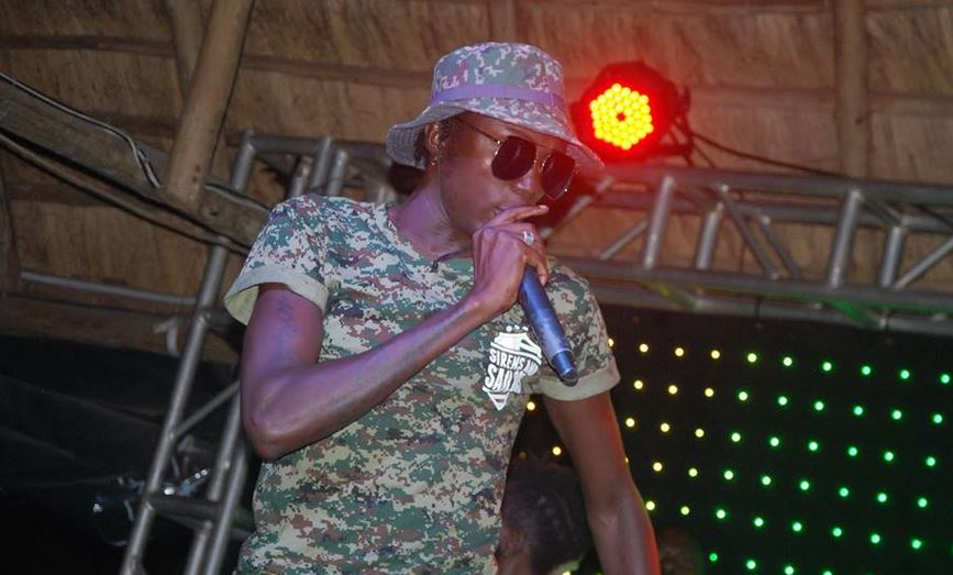 Ziza Bafana performs at Martyrs Day Eve show at Laftaz