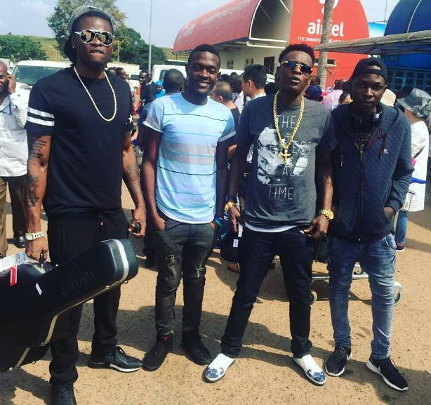 Chameleone returns from US music tour