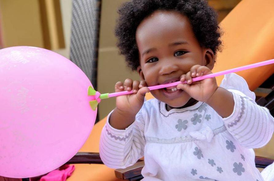 Photos Bobi Wines Daughter Makes One Year Today