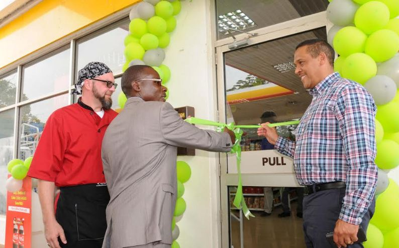 Pizza Hut opens up new branch at Shell Entebbe